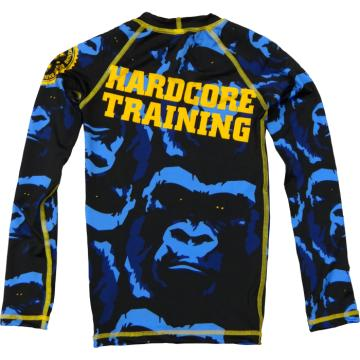 Детский Рашгард Hardcore Training Gorilla Long Sleeves | Фото 1