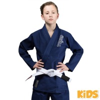 Кимоно для бжж Venum Contender Kids - Navy Blue с поясом