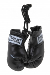 Брелок Everlast Mini Boxing Glove In Pairs - Черный