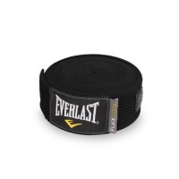 Бинты для бокса Everlast Breathable - Черный (4.55m)