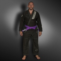 Кимоно для BJJ Fight Expert Ultra Light - Black