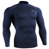 Рашгард EMFRAA Mock Turtleneck Tight Shirt  - Blue