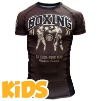 Детский рашгард Hardcore Training Boxing Kids