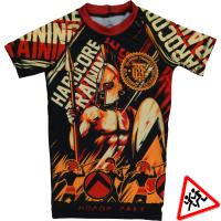 Детский Рашгард Hardcore Training Sparta Shortsleeve