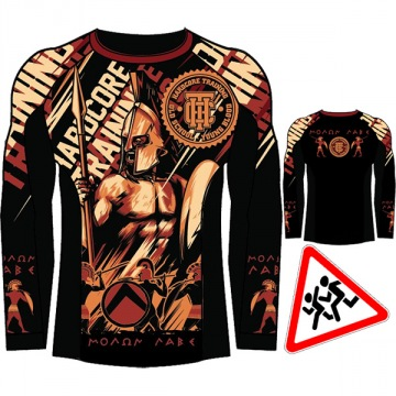 Детский Рашгард Hardcore Training Sparta Longsleeve