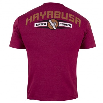 Футболка Hayabusa Raging Bull - Burgundy/Orange | Фото 1