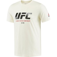 Футболка Reebok UFC Ultimate Fan Logo - White