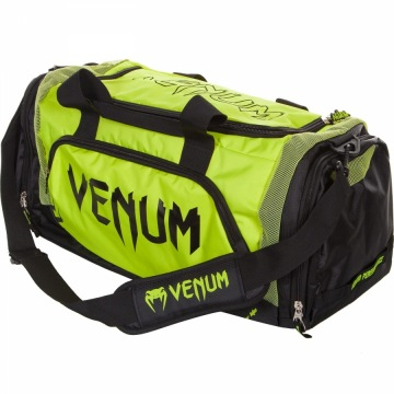 Сумка Спортивная Venum Trainer Lite - Black/Neo Yellow