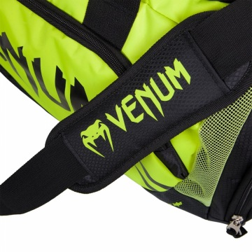 Сумка Спортивная Venum Trainer Lite - Black/Neo Yellow | Фото 3