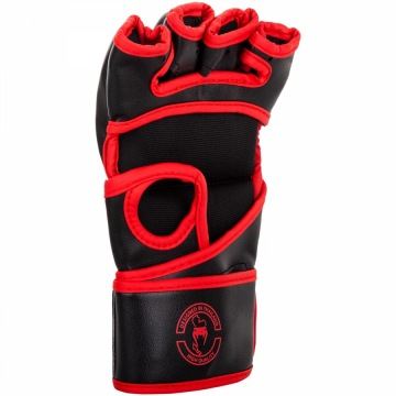 Перчатки MMA Venum Challenger Without Thumb - Black/Red | Фото 2
