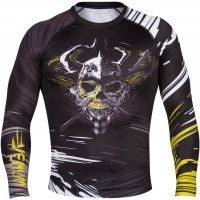 Рашгард Venum Viking Long Sleeves - Black