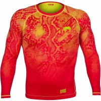 Рашгард Venum Fusion Long Sleeves - Orange/Yellow
