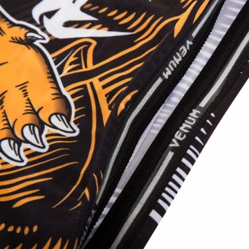 Рашгард Venum Tiger - Black/Orange | Фото 7