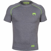 Рашгард Venum Contender 2.0 Short Sleeves - Heather Grey