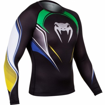 Рашгард Venum Brazilian Hero Long Sleeves | Фото 3