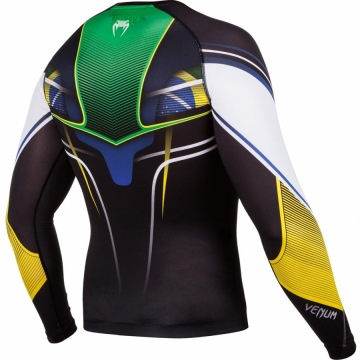 Рашгард Venum Brazilian Hero Long Sleeves | Фото 5
