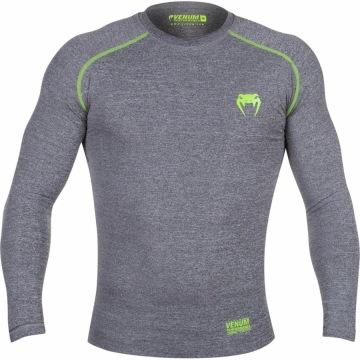 Рашгард Venum Contender 2.0 Long Sleeves - Heather Grey
