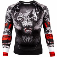 Рашгард Venum Werewolf Long Sleeves - Black/Grey