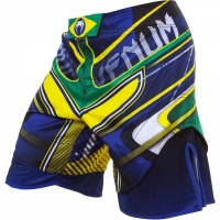 Шорты Venum Brazilian Hero - Yellow/Blue/Green