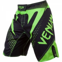 Шорты Venum Hurricane - Black/Neo Yellow