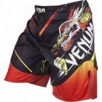 Шорты Venum Lyoto Machida Tatsu King - Black/Orange