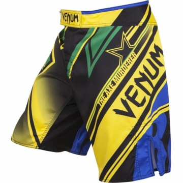 Шорты Venum Wand's Conflict - Yellow\Blue\Green