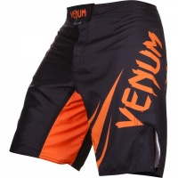 Шорты ММА Venum Challenger - Black/Neo Orange