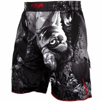Шорты ММА Venum Werewolf - Black/Grey