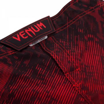 Шорты ММА Venum Fusion - Black/Red | Фото 4
