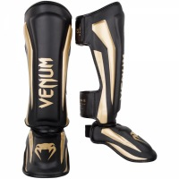 Шингарды Venum Elite - Black/Gold