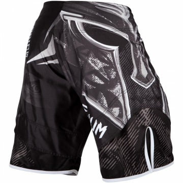 Шорты MMA Venum Gladiator 3.0 - Black/White | Фото 1