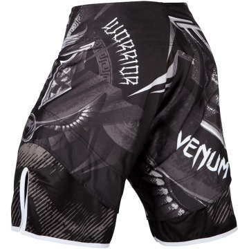 Шорты MMA Venum Gladiator 3.0 - Black/White | Фото 2