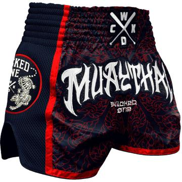 Шорты Муай Тай Wicked One Muaythai - Black/Red